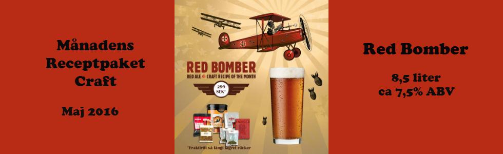 Månadens Craft paket red Bomber